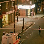 London N1 14 April 2010 - 16 year-old girl shot while ordering chiken on Hoxton street. Photo: Nathanael Corre