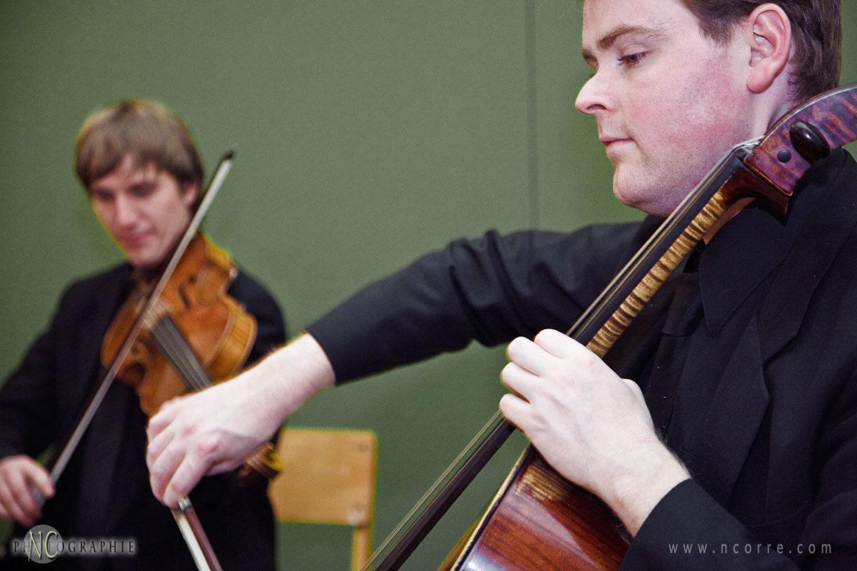 String trio.