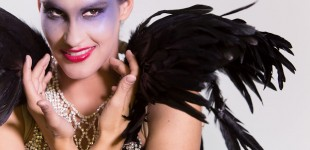 Shooting geisha et make-up avant-garde